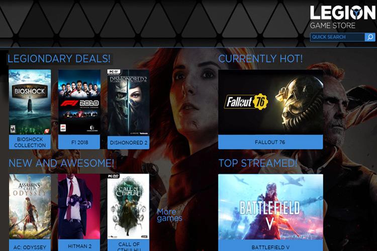 Legion Game Store